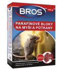 Parafínové bloky na myši Bros