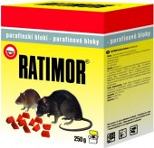 Parafínové bloky proti hlodavcům Ratimor