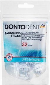 Dentální párátka mezizubní nevoskovaná Dontodent