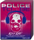 Parfémovaná voda dámská To Be Miss Beat Police