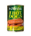 Párky hot dog Ye Olde Oak