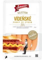 Párky vídeňské se sýrem Selection Schneider