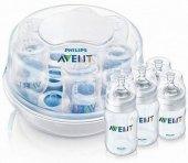 Parní sterilizátor lahví do mikrovlnné trouby Express Avent