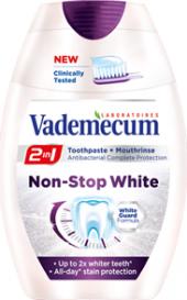 Pasta na zuby 2v1 Non - Stop White Vademecum