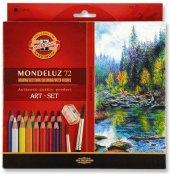 Pastelky akvarelové Mondeluz KOH-I-NOOR