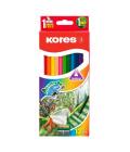 Pastelky akvarelové Kores