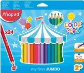 Pastelky Jumbo Maped