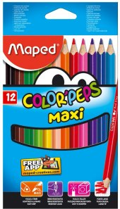 Pastelky Maped Color´Peps