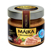 Paštika Májka s brusinkami Premium Vynikající kvalita Hamé