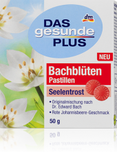 Pastilky Bachovy květy Das gesunde Plus