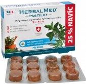 Pastilky proti bolesti v krku HerbalMed Dr. Weiss