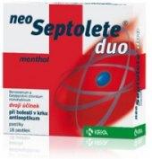 Pastilky proti bolesti v krku Duo Neo Septolete