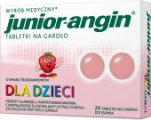 Pastilky proti bolesti v krku Junior Angin