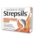Pastilky proti bolesti v krku Strepsils