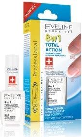 Péče o nehty 8v1 Total Action Eveline Nail Therapy