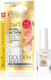 Péče o nehty Golden Shine Eveline Nail Therapy