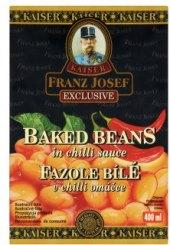 Fazole pečené v chilli omáčce Franz Josef