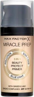 Pečující báze 3v1 Miracle Prep Max Factor