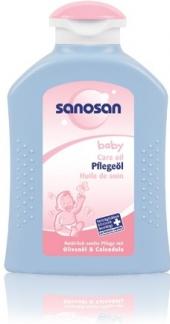 Pečující dětský olej Sanosan