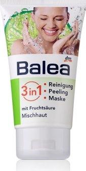 Peeling, gel a maska 3v1 Balea