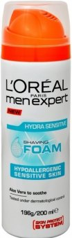 Pěna na holení pánská Men Expert Sensitive  L'Oréal
