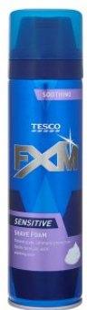 Pěna na holení pánská FXM Tesco
