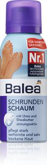 Pěna na popraskané nohy Balea