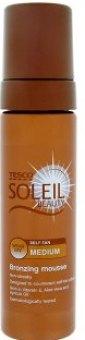 Pěna samoopalovací Soleil Tesco
