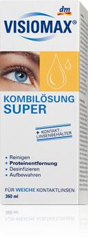 Roztok peroxidový na kontaktní čočky Visiomax