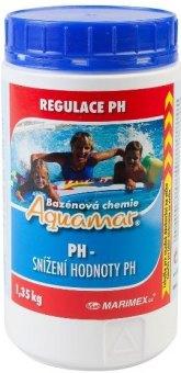 Přípravek do bazénu pH minus Aquamar