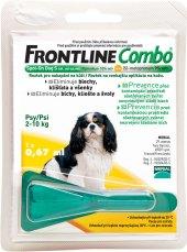 Pipety antiparazitní pro psy Combo Frontline