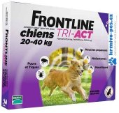 Pipety antiparazitní pro psy Tri-Act Frontline