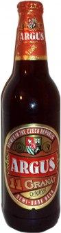 Pivo polotmavý ležák 11° Granát Argus