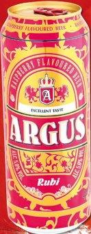 Pivo ochucené malinové Argus