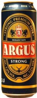 Pivo světlé speciální Strong Argus