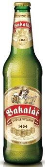 Pivo světlé výčepní 10° Bakalář
