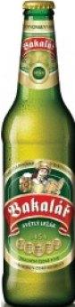 Pivo světlý ležák 12° Bakalář