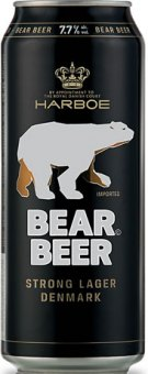 Pivo Bear Beer Harboe