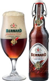Pivo řezané Jantarový ležák Bernard