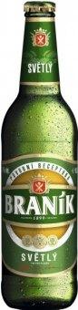 Pivo světlé výčepní 10° Braník