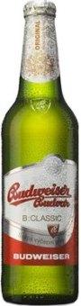 Pivo světlé výčepní B: Classic Budweiser Budvar