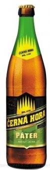 Pivo světlý ležák 11° Páter Černá hora