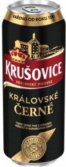 Pivo černé výčepní královské 10° Krušovice