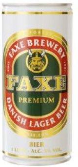 Pivo světlý ležák Faxe