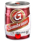 Pivo světlé výčepní 10° Originál  Gambrinus - sud