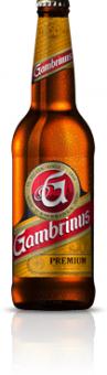 Pivo světlý ležák 12° Premium Gambrinus