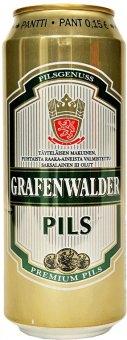 Pivo světlý ležák Grafenwalder