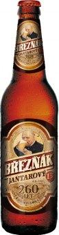 Pivo polotmavý speciál Jantarový 13° Březňák