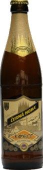 Pivo světlý ležák Kamelot Černá Hora