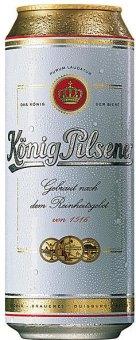 Pivo světlý ležák 12° König Pilsener
